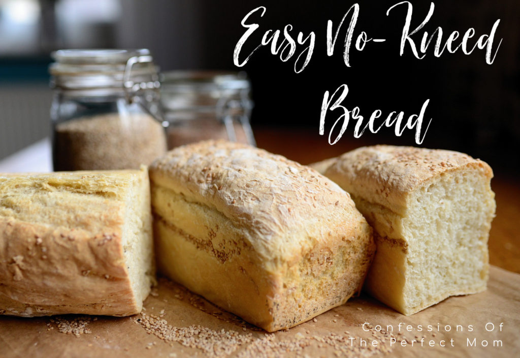 Easy No Kneed Bread